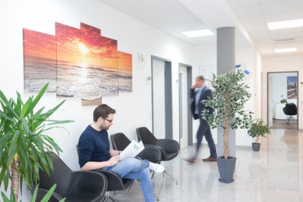 Flur der Büroräume von Buemann Personal Service Ravensburg