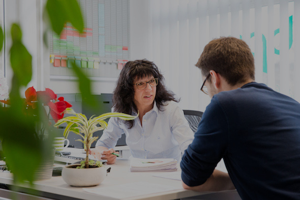 Kundengespräch der Firma Buemann Personal Service GmbH